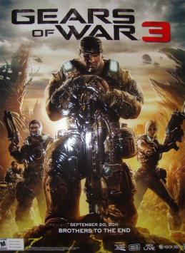 <h4>Gears of War 3</h4><span class='client-name'>Microsoft (VG)</span><span class='project-role'>Electronic Music & Percussion</span>